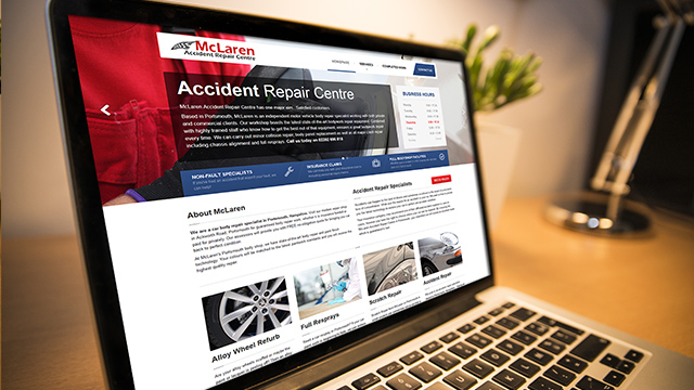 Accident Repair Website