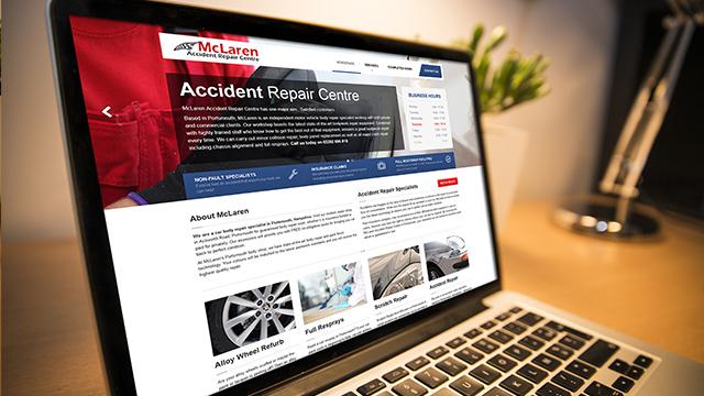 Accident Repair Website