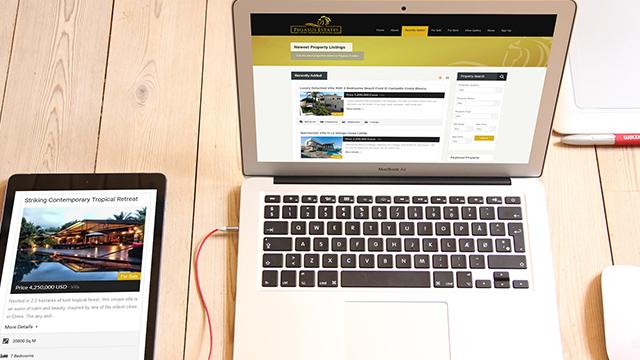 Property and Estate Agent Website Design